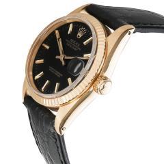 Rolex Watch Co Rolex Datejust 6827 Unisex Vintage Watch in 18kt Yellow Gold - 1839385