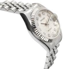 Rolex Watch Co Rolex Datejust 79174 Womens Watch in 18kt Stainless Steel White Gold - 1839430