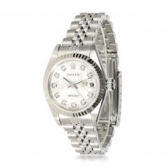 Rolex Watch Co Rolex Datejust 79174 Womens Watch in 18kt Stainless Steel White Gold - 1839981