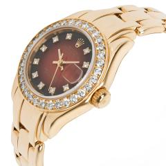 Rolex Watch Co Rolex Pearlmaster 69298 Womens Watch in 18kt Yellow Gold - 1839219