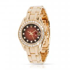 Rolex Watch Co Rolex Pearlmaster 69298 Womens Watch in 18kt Yellow Gold - 1839956