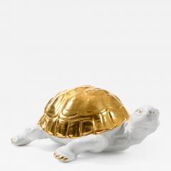 Ronzan Ceramic tortoise with gold detailing by Ronzan - 1535713