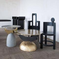 Rooms Half Moon Brass Table II Rooms - 1569210
