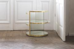 Rooms Invisible Brass Side Table Rooms - 880081
