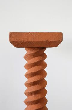 Rooms Terracotta Pedestals Hand Sculpted Rooms - 965792