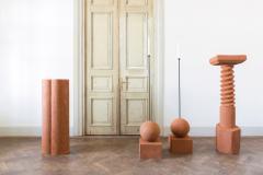 Rooms Terracotta Pedestals Hand Sculpted Rooms - 965795