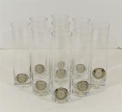 Rosenthal Rosenthal Shou Medallion Crystal Beer Glasses - 242232