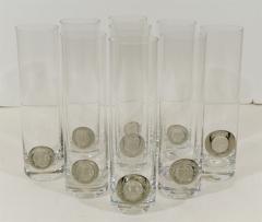 Rosenthal Rosenthal Shou Medallion Crystal Beer Glasses - 242233