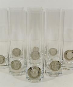 Rosenthal Rosenthal Shou Medallion Crystal Beer Glasses - 242234