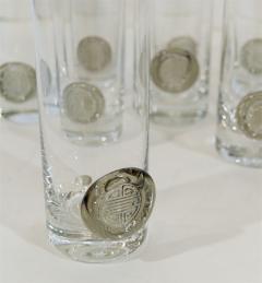 Rosenthal Rosenthal Shou Medallion Crystal Beer Glasses - 242235