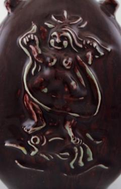 Royal Copenhagen Ceramic vase in ox blood glaze - 1357020