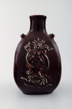 Royal Copenhagen Ceramic vase in ox blood glaze - 1357028