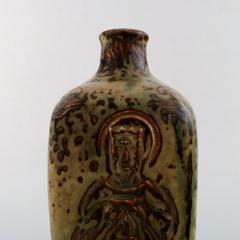 Royal Copenhagen Ceramic vase sung glaze - 1357044