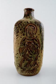 Royal Copenhagen Ceramic vase sung glaze - 1357045