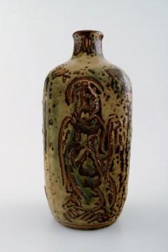 Royal Copenhagen Ceramic vase sung glaze - 1357050
