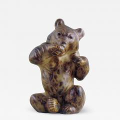 Royal Copenhagen Figurine number 21675 bear sitting - 1362836