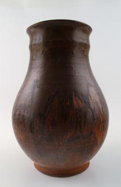Royal Copenhagen Large Royal Copenhagen unique stoneware vase dated 1926 - 1227323
