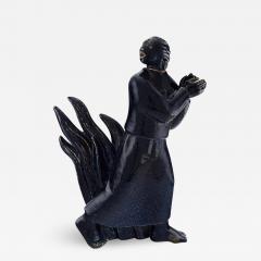 Royal Copenhagen Large and impressive sculpture in glazed ceramics - 1227148