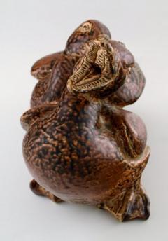 Royal Copenhagen Large pottery figure no 20281 Ducks - 1357068