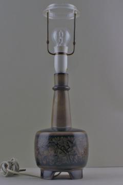 Royal Copenhagen Porcelain table lamp mounted on four feet - 1361389