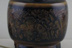 Royal Copenhagen Porcelain table lamp mounted on four feet - 1361390