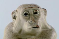 Royal Copenhagen Rare Knud Kyhn for Aluminia Royal Copenhagen Stoneware figure Monkey - 1226986