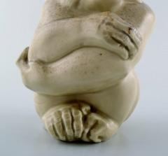 Royal Copenhagen Rare Knud Kyhn for Aluminia Royal Copenhagen Stoneware figure Monkey - 1226987
