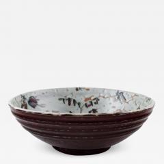 Royal Copenhagen Royal Copenhagen ceramics Unique bowl signed by Thorkild Olsen approx 1950  - 1228412