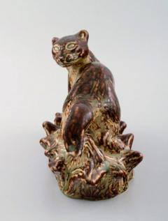 Royal Copenhagen Stoneware figure in the shape of stoat Model number 21408 - 1357003