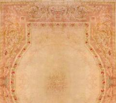 Royal Manufacture of Aubusson 19th Century French Savonnerie Rug Finest Quality Design Louis XVI - 1297611