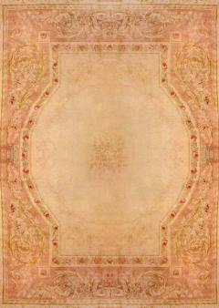 Royal Manufacture of Aubusson 19th Century French Savonnerie Rug Finest Quality Design Louis XVI - 1297612