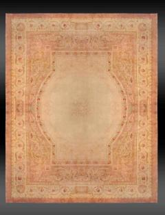 Royal Manufacture of Aubusson 19th Century French Savonnerie Rug Finest Quality Design Louis XVI - 1297613