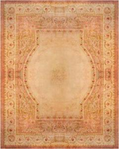 Royal Manufacture of Aubusson 19th Century French Savonnerie Rug Finest Quality Design Louis XVI - 1298111