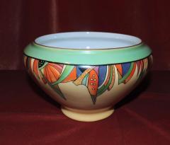 Royal Rochester Modernistic Art Deco Royal Rochester Batter Bowl - 1492464