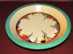 Royal Rochester Royal Rochester Modernistic Art Deco Pie Plate - 1492458