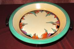 Royal Rochester Royal Rochester Modernistic Art Deco Pie Plate - 1492459