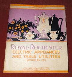 Royal Rochester Royal Rochester Modernistic Waffle Iron - 1492480