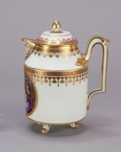 Royal Vienna Porcelain Vienna Porcelain Covered Milk Jug c 1794 - 1343685