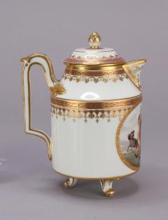 Royal Vienna Porcelain Vienna Porcelain Covered Milk Jug c 1794 - 1343687