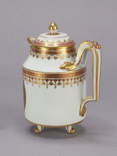 Royal Vienna Porcelain Vienna Porcelain Covered Milk Jug c 1794 - 1343689