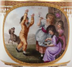 Royal Vienna Porcelain Vienna Porcelain Covered Milk Jug c 1794 - 1343690