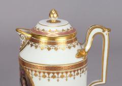 Royal Vienna Porcelain Vienna Porcelain Covered Milk Jug c 1794 - 1343691
