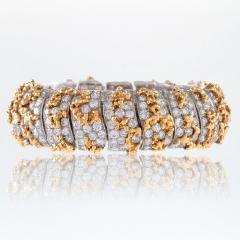Ruser Ruser Mid 20th Century Diamond and Gold Bracelet - 230698
