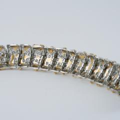 Ruser Ruser Mid 20th Century Diamond and Gold Bracelet - 230699
