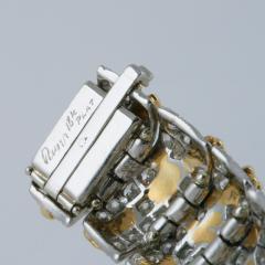 Ruser Ruser Mid 20th Century Diamond and Gold Bracelet - 230703