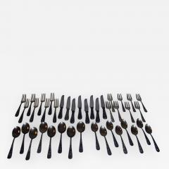 S Kirk Sons Repousse by Kirk Sterling Silver Flatware 40 Piece Dinner Service for Eight - 998595