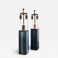 S holm Stent j Soholm ceramics A pair of large table lamps by Soholm - 2119817