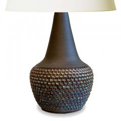 S holm Stent j Soholm ceramics Dazzling Mod Table Lamp by Einar Johansen for Soholm - 1642511