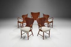 S ren Hansen Soren Hansen Set of Five Armchairs by S ren Hansen for Fritz Hansen Denmark 1943 - 1611658