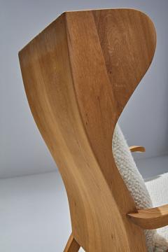 S ren Willadsen M belfabrik Wingback Chair by Danish Cabinetmaker S ren Willadsen Denmark 1960s - 1193648